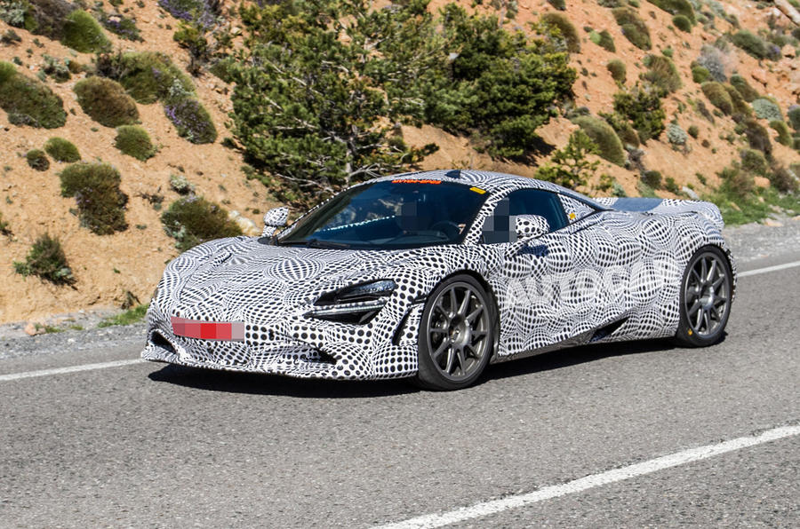 McLaren hybrid power spies - 7