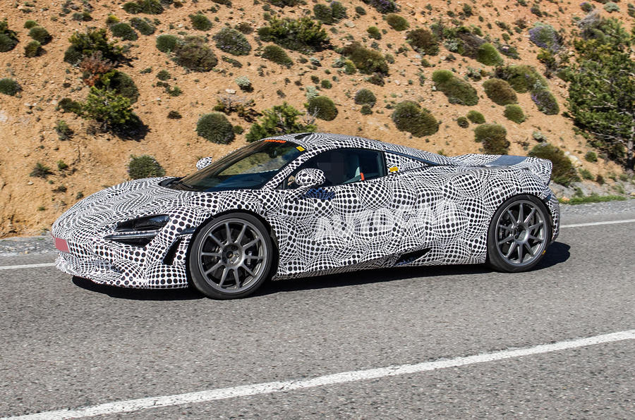 McLaren hybrid power spies - 6