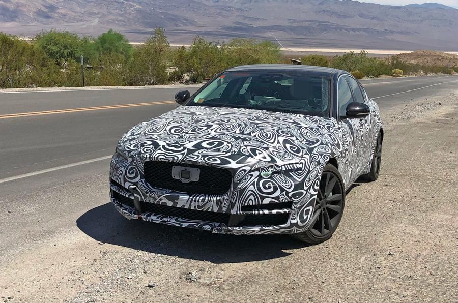 Jaguar XE 2019 spies front