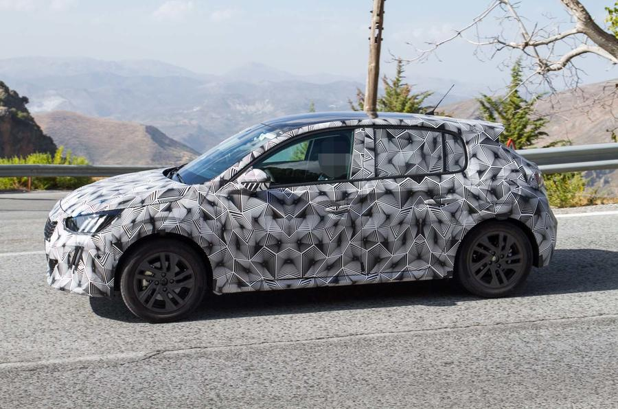 All New Ford Fiesta >> New Peugeot 208 spied with production body for 2019 | Autocar