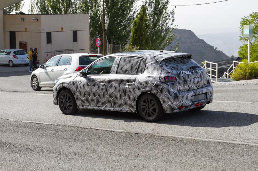 New Peugeot 208 Spied With Production Body For 2019 Autocar