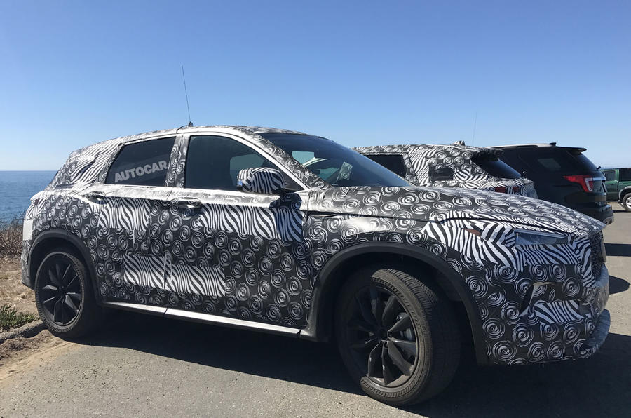 2018 Infiniti QX50 sighting shows Detroit concept influence