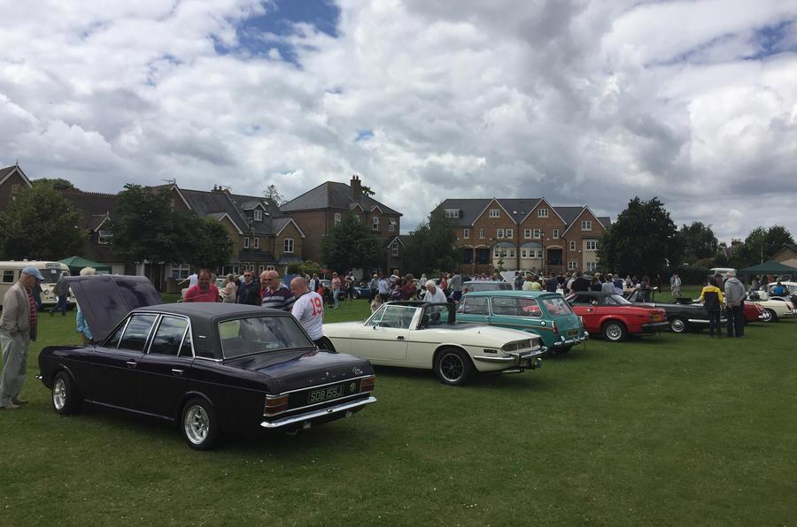 Hampton Village Classic Car Show