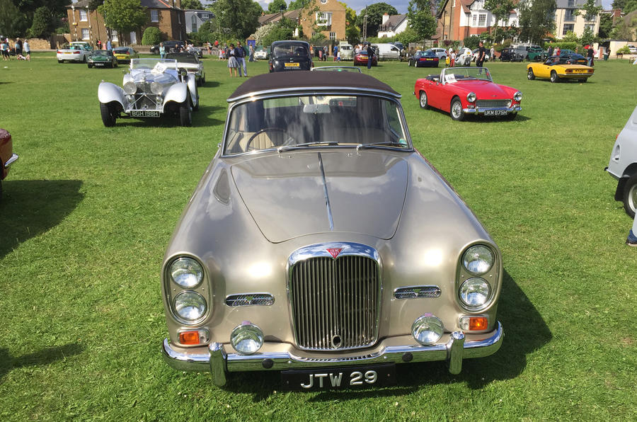 Hampton Village Classic Car Show Alvis