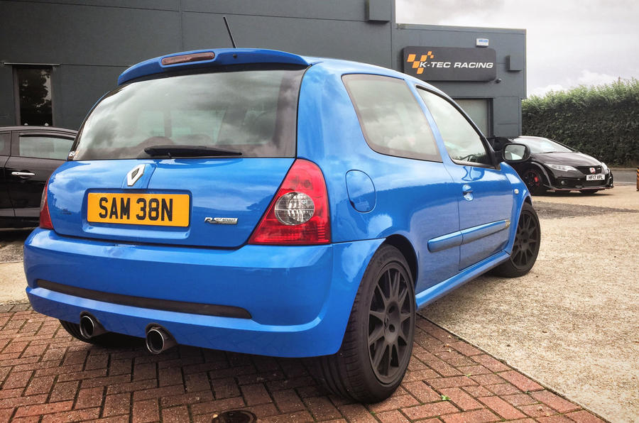 How Much Does It Cost To Register A Car >> Life with a used Renaultsport Clio 182 - new pics of ...
