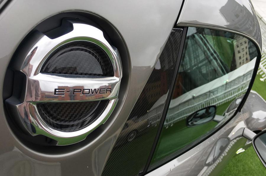 Porsche 918 Spyder fuel filler cap