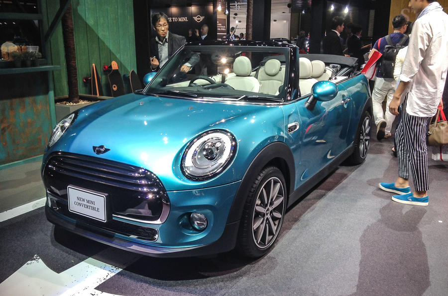 2016 Mini Convertible Makes Its Debut At Tokyo Show Autocar