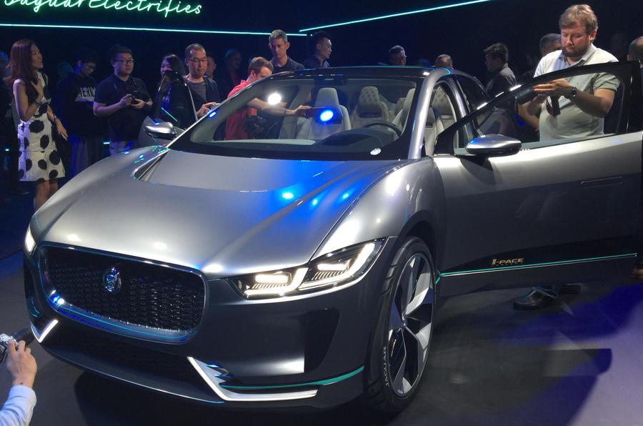 2018 jaguar hybrid. beautiful jaguar 2018 jaguar ipace electric suv revealed and jaguar hybrid r