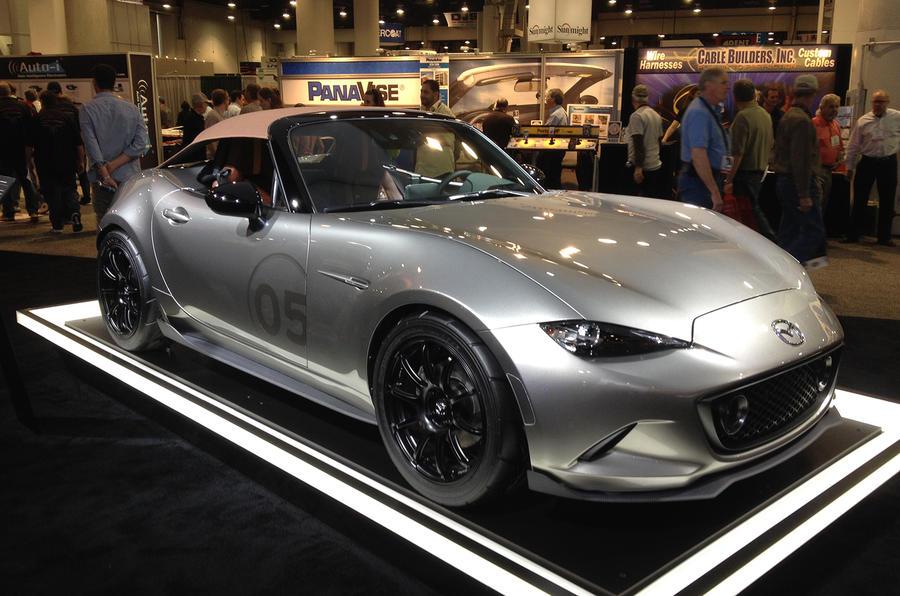 Mazda MX-5 Spyder and Speedster concepts get SEMA debut   Autocar