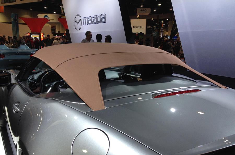 Aftermarket Car Parts >> Mazda MX-5 Spyder and Speedster concepts get SEMA debut | Autocar