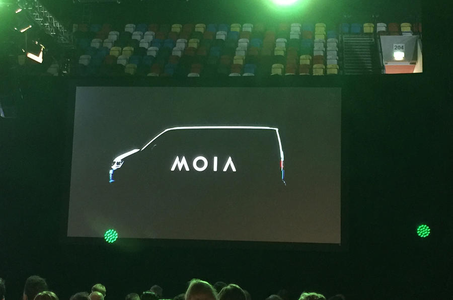 Volkswagen unveils Moia, its new mobility services brand