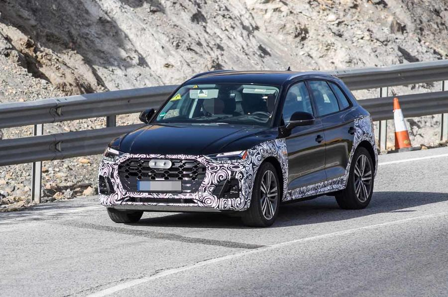 2020 Audi Q5: Plug-in Hybrid, Changes, Release >> New Audi Q5 Updated Suv Caught Ahead Of 2020 Release Autocar