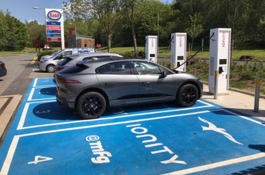 Ionity charging point in Maidstone