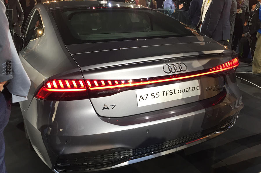 New Audi A7: £52,240 price for flagship four-door coupé ...