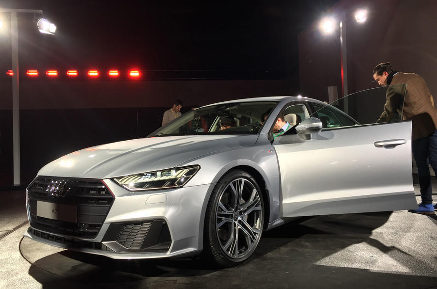 New Audi A7 52 240 Price For Flagship Four Door Coupe Autocar