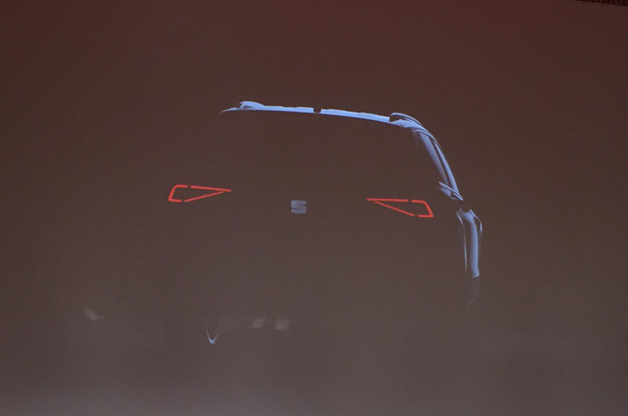 Seat seven-seat SUV teaser