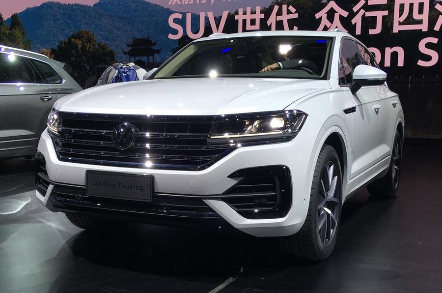 New Volkswagen Touareg On Sale In Britain From 163 51 595