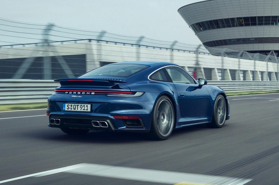 Porsche 911 Turbo 2020 official images - rear