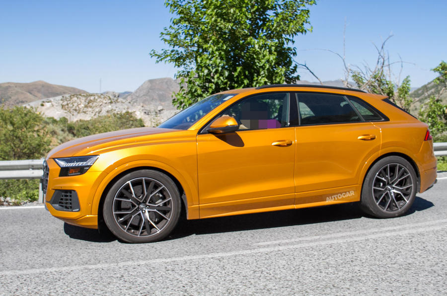 Audi Sq8 Seen Testing Undisguised Ahead Of December Arrival Autocar