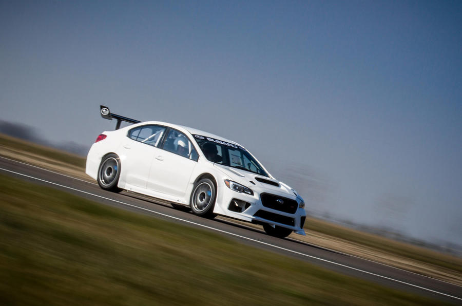 Subaru Releases New Pics Of Isle Of Man Time Attack Wrx