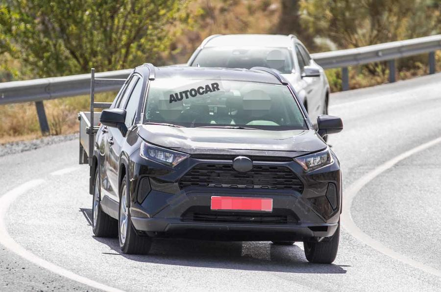Toyota Tests Plug In Hybrid Rav4 Suv In New Images Autocar