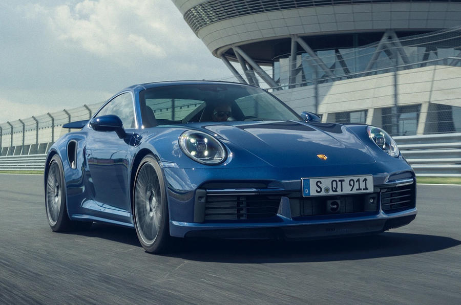 Porsche 911 Turbo 2020 official images - front