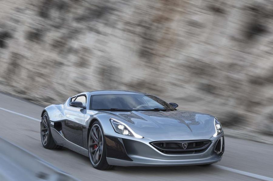 Rimac S Second Electric Hypercar 120kwh Battery And Full