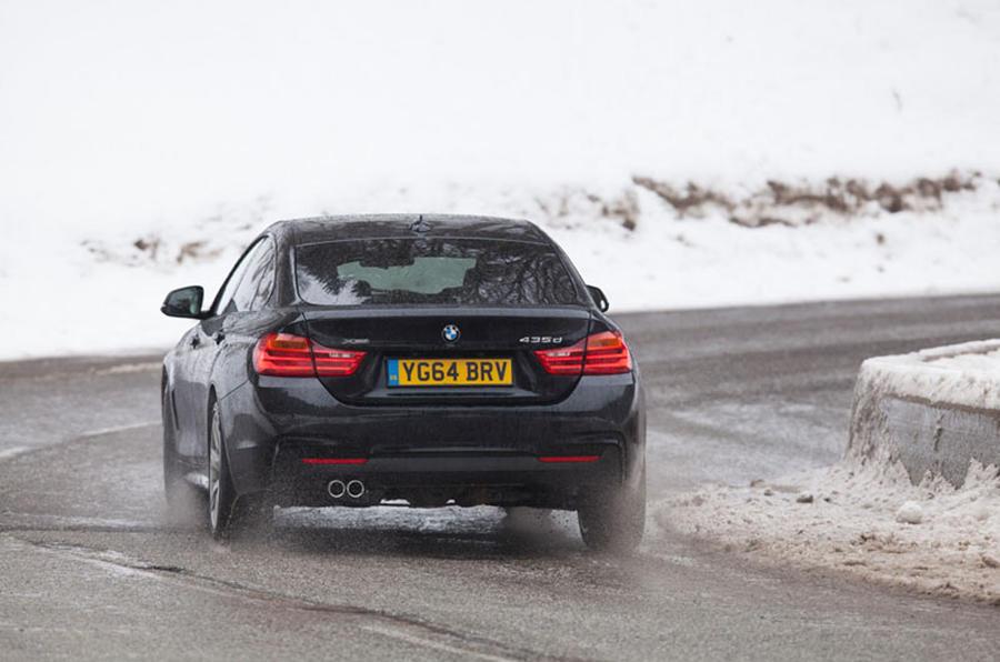 BMW 435d xDrive rear