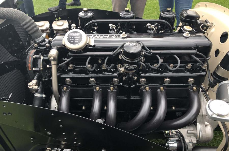 Bentley Blizzard roadster at London Concours 2019