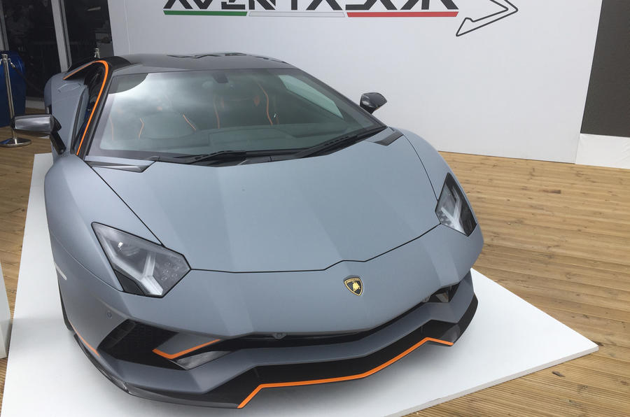 LAMBORGHINI AVENTADOR S: British customer has already bought the car
