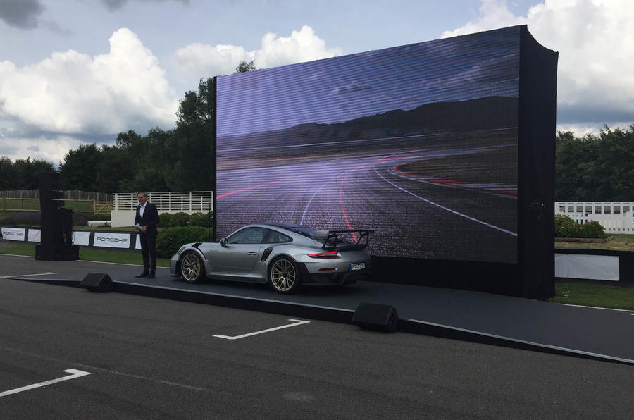 Porsche ignites Goodwood with most powerful 911 ever