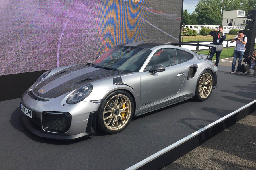 Official Images Of The Monstrous Porsche 911 GT2 RS Have Leaked