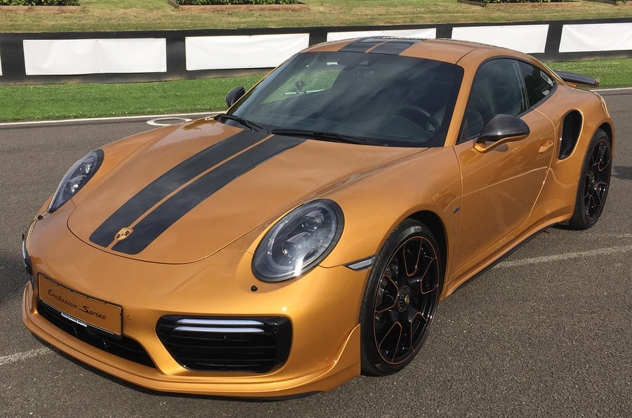 Porsche 911 Turbo S Exclusive Series Revealed At Goodwood