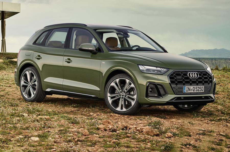 2020 Audi Q5 facelift - static front