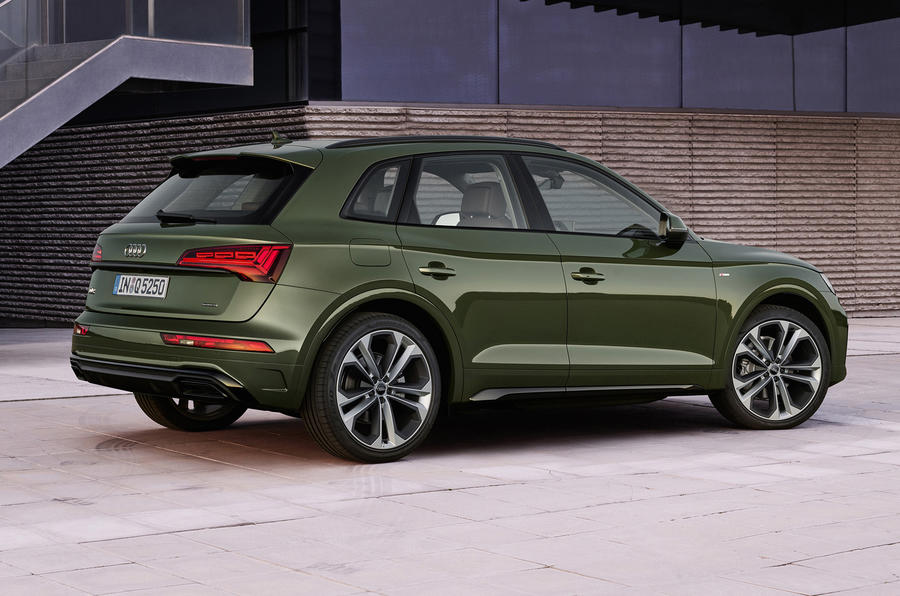 2020 Audi Q5 facelift - static rear