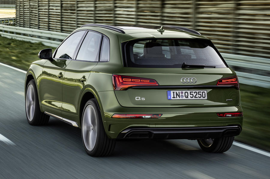 2020 Audi Q5 facelift - rear
