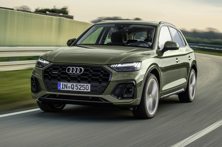 2020 Audi Q5 facelift - hero front