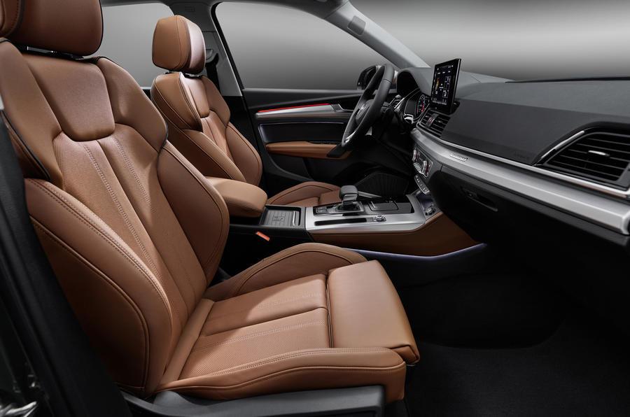 2020 Audi Q5 facelift - front seats