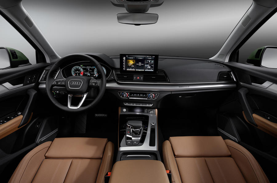 2020 Audi Q5 facelift - interior