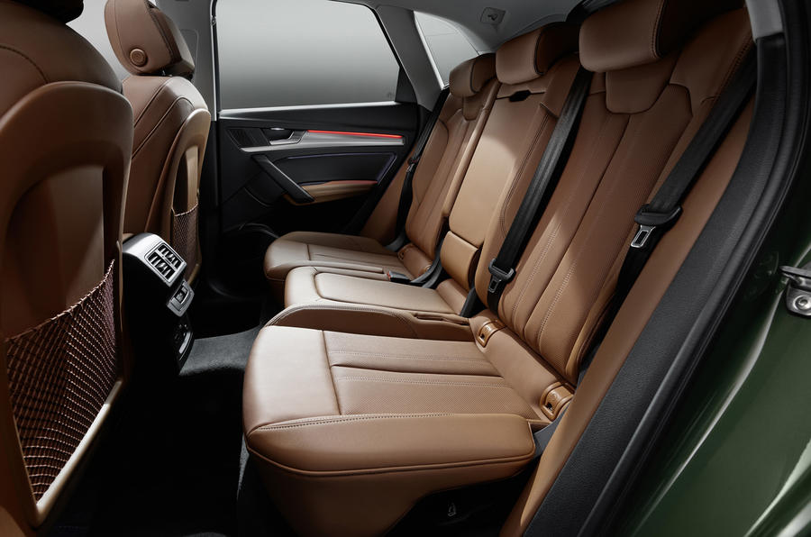 2020 Audi Q5 facelift - rear seats