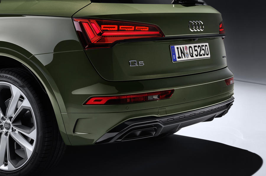 2020 Audi Q5 facelift - rear bumper