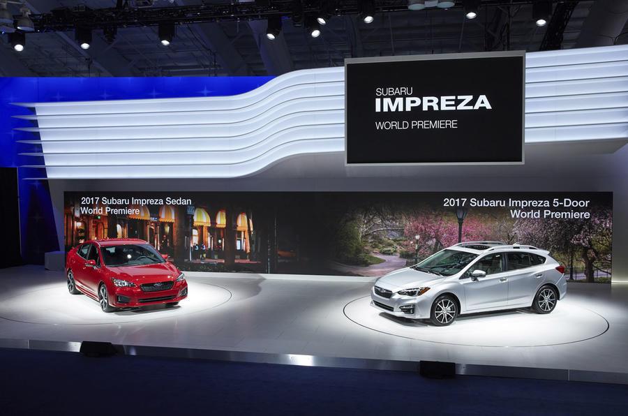 Subaru Impreza hatchback and saloon