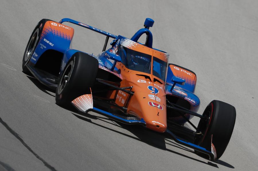 Indycar Texas Scott Dixon
