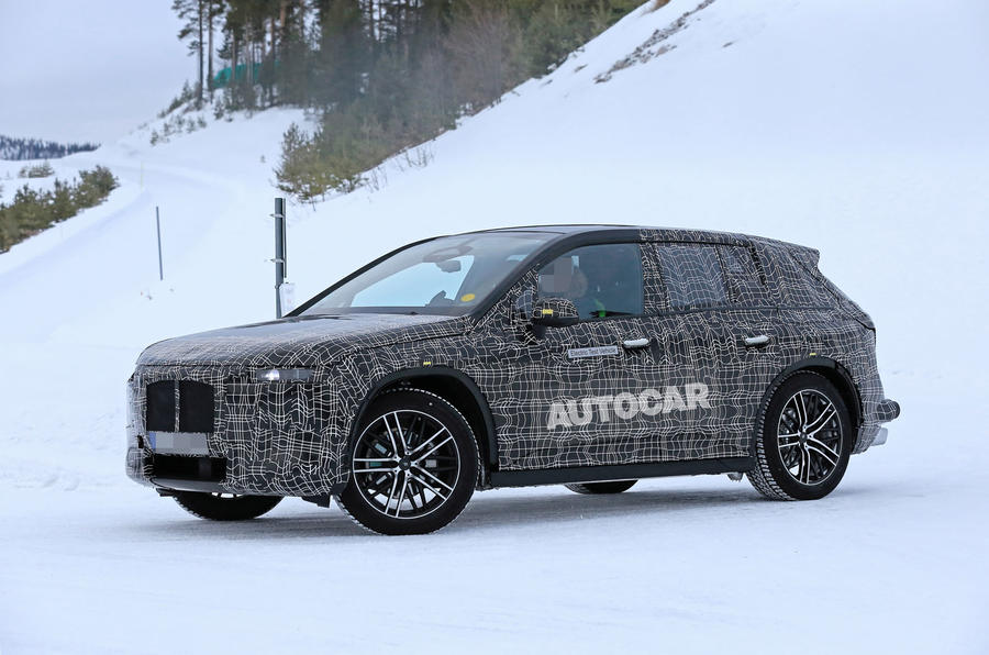 BMW iNext winter testing spies 1