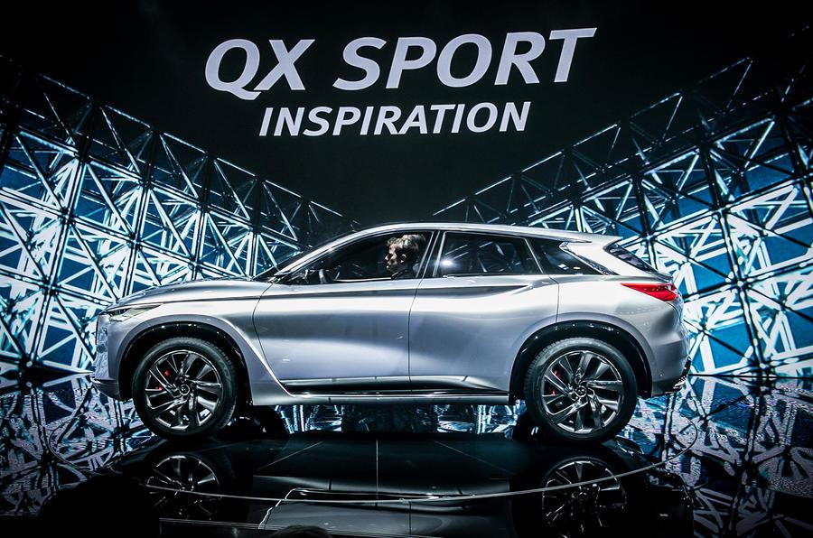 Infiniti Qx Sport Inspiration Concept Previews Next Gen Suv Range Autocar