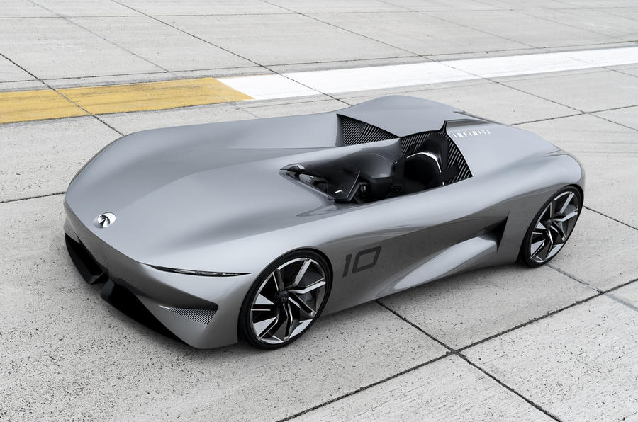 9 Seater Car >> Infiniti Prototype 10 concept ushers in electrification ...