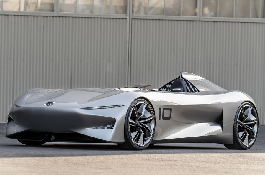 infiniti prototype 10 concept ushers in electrification from 2021 autocar. Black Bedroom Furniture Sets. Home Design Ideas