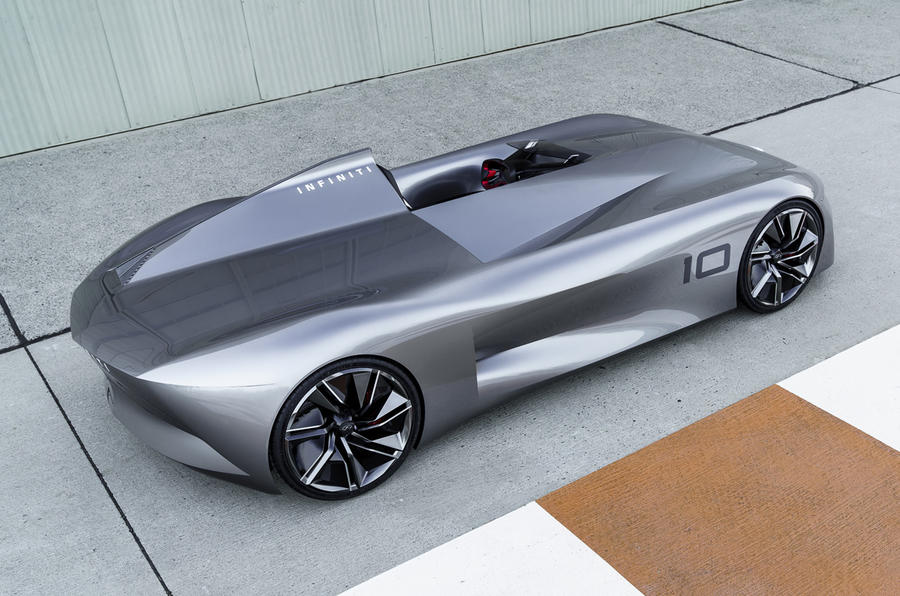 infiniti prototype 10 concept ushers in electrification