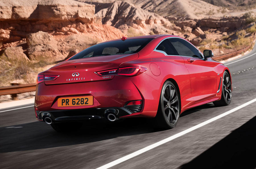 Infiniti Q60 S 3.0T Sport Tech hero rear