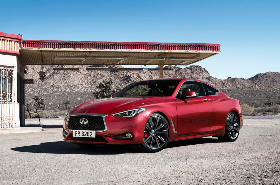 Infiniti Q60 S 3.0T Sport Tech static garage